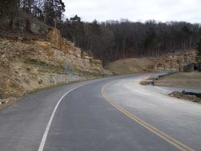 Lion's Den – Road Reconstruction – Completed in 2006