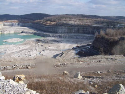SMITHLAND, KY: Three Rivers Quarry
