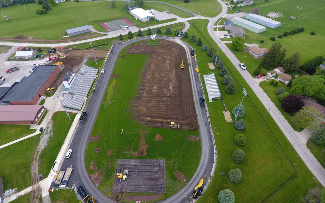 Williamsburg,IA: Williamsburg Track and Field Improvements